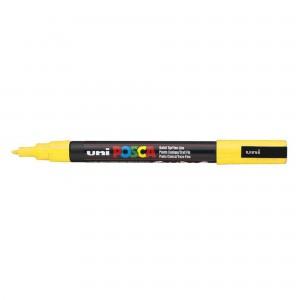 Marker Uni PC-3M Posca 0.9-1.3 mm galben M195