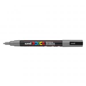 Marker Uni PC-3M Posca 0.9-1.3 mm gri M297