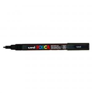 Marker Uni PC-3M Posca 0.9-1.3 mm negru M196