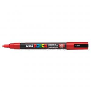 Marker Uni PC-3M Posca 0.9-1.3 mm rosu M197