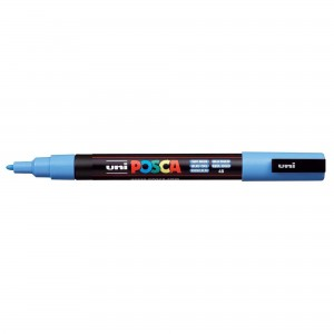 Marker Uni PC-3M Posca 0.9-1.3 mm sky blue M1175