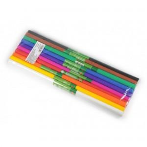 Set hartie creponata Koh-I-Noor 10 culori mix K9755-37