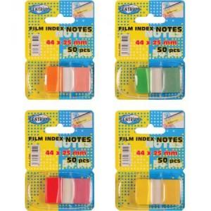 Notes adeziv 44x25mm film index Centrum 83502