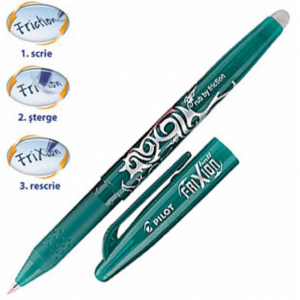 Roller Pilot Frixion Ball 0.7mm verde PBL-FR7-G