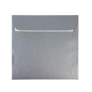 Plic 14 x 14cm siliconic argintiu Daco PC1414AG