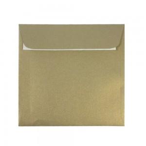 Plic 16 x 16cm siliconic auriu Daco  PC1616AU