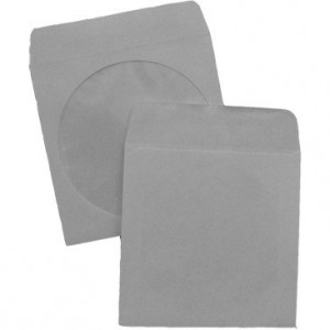 Plic CD 90g alb cu fereastra E16111