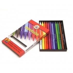 Set creioane fara lemn Progresso 12 culori/set K8756-12