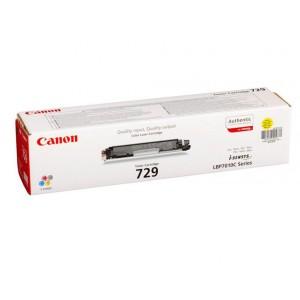 Cartus toner negru Canon CRG-729BK 1,2K ORIGINAL LBP 7018C