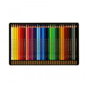 Creioane Aquarell Mondeluz 36 culori/cutie metalica K3725-36