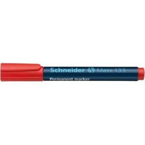 Marker permanent Schneider rosu 133 1-5mm  2927-2
