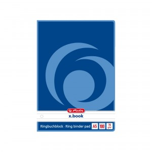 Rezerva caiet mecanic A5 100 file dictando Herlitz 0311514