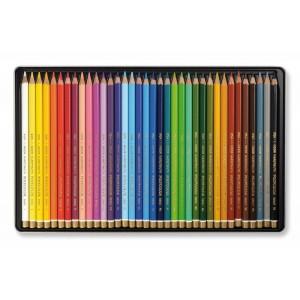 Set creioane Polycolor 36 culori/cutie metalica K3825-36