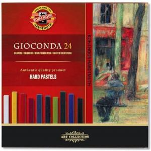 Set creta uleioasa patrata Gioconda 24 culori/set K8114-24