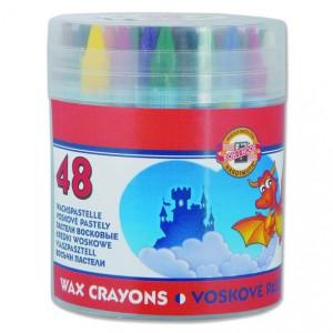 Creioane colorate cerate Kooh-I-Noor 48 culori / set K8236-48