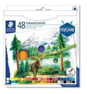 Creioane color Staedtler hexagonale 48 buc/cutie ST-146C-C48
