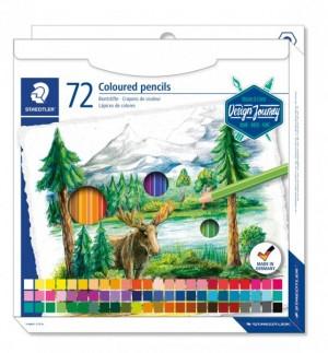 Creioane color Staedtler hexagonale 72 buc/cutie ST-146C-C72