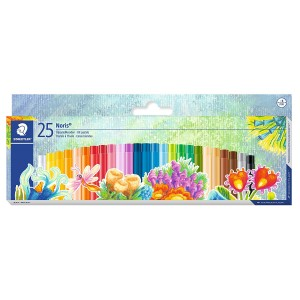 Creioane colorate Staedtler pe baza de ulei Noris Club ST-241-NC25