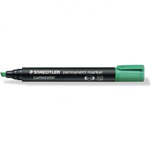 Marker permanent Staedtler Lumocolor varf tesit ST-350-5 Verde