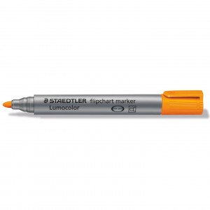 Marker flipchart Staedtler varf rotund 2mm Portocaliu ST-356-4