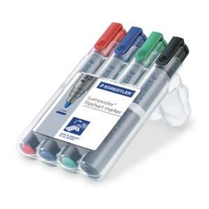 Marker flipchart Staedtler 4 culori / set ST-356-WP4