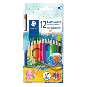Creioane color Staedtler Aquarell 12 bucati / set ST14410NC12