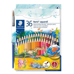 Creioane colorate Staedtler Noris Aquarell 36 culori / set ST-144-10ND36