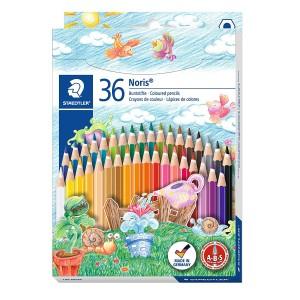 Creioane colorate Staedtler Noris 36 culori / set ST144ND36