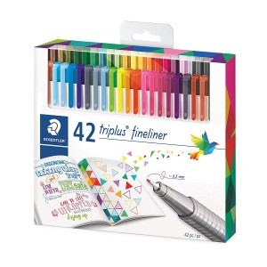 Set fineliner triplus Staedtler 42 culori