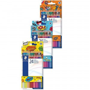 Creioane colorate Staedtler Comic 24/set ST-175-COCD24