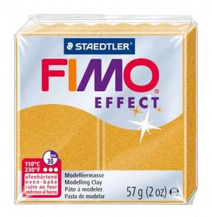 Lut polimeric Fimo Effect pentru modelaj Gold STH-8020-11