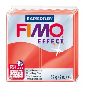 Lut polimeric Fimo Effect pentru modelaj Red STH-8020-204