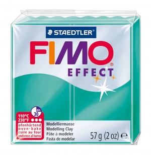 Lut polimeric Fimo Effect pentru modelaj Green STH-8020-504