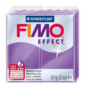Lut polimeric Fimo Effect pentru modelaj Purple STH-8020-604