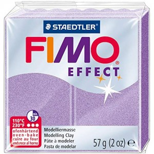 Lut polimeric Fimo Effect pentru modelaj Lilac Pearl STH-8020-607