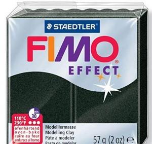 Lut polimeric Fimo Effect pentru modelaj Black STH-8020-907