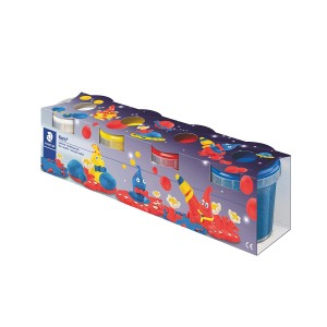 Plastilina usoara Staedtler 4 culori STH-8134-01