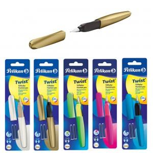 Stilou Twist Pelikan penita M, diverse culori 603089