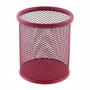Suport birou cilindric roz Ecada 95001RZ