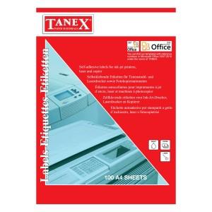Etichete autoadezive Tanex A4 TN2004