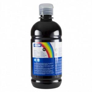 Tempera 500 ml Milan negru 03680