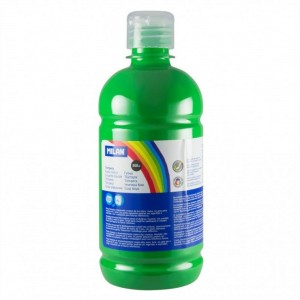 Tempera 500 ml Milan verde deschis 03660
