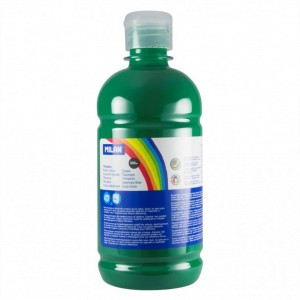Tempera 500 ml Milan verde inchis 03661