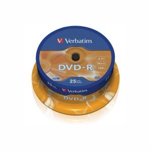DVD-R Verbatim 4.7Gb 16X 25buc/ Box VER43522