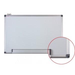 Tabla magnetica (whiteboard) Optima cu rama din aluminiu 120x300cm OP-20120300