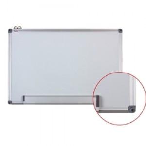 Tabla magnetica (whiteboard) Optima cu rama din aluminiu 90x120cm OP-20090120