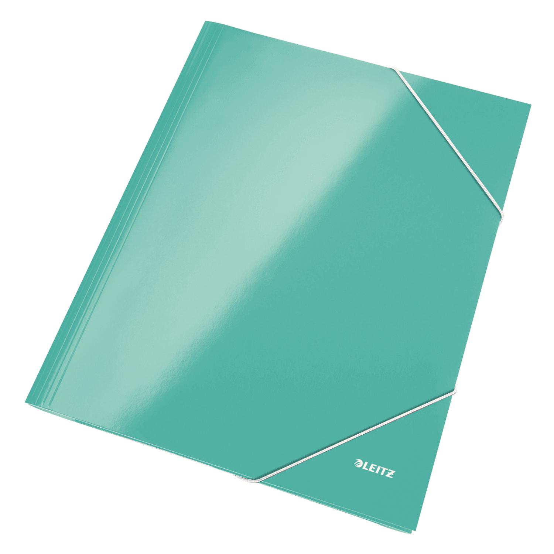 Mapa A4 Leitz din carton cu elastic diverse culori LZ39820044