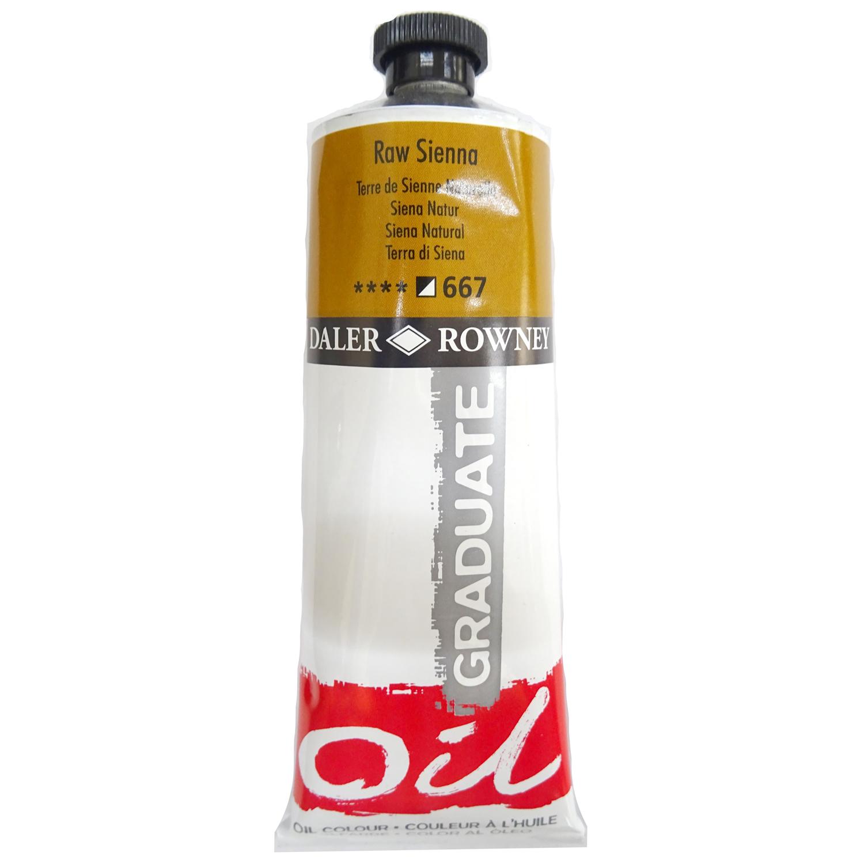 Culoare ulei gradulata 200ML Raw Sienna 667 FL117200667