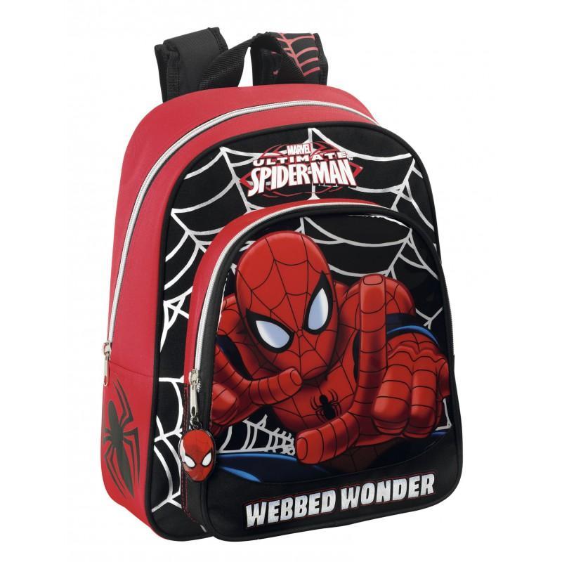 Ghiozdan scoala Spiderman 28cm 611412006