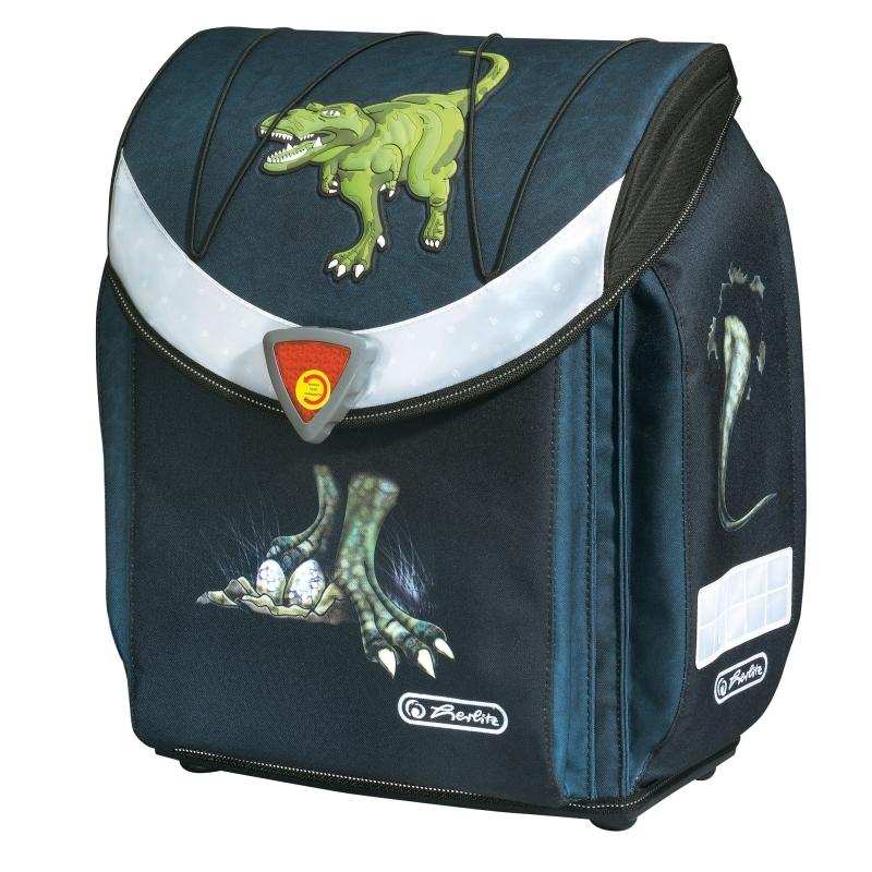 Ghiozdan Herlitz neechipat flexi Dinomania 11280096